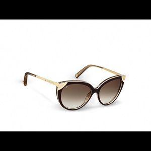 Louis Vuitton Amber Cateye Sunglasses S0620W